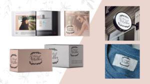 Branding para marca de ropa